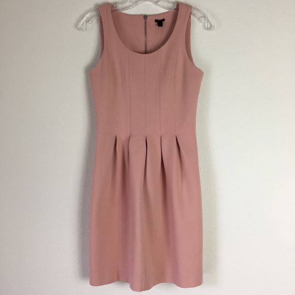 J. Crew Dresses & Skirts - Light Pink J. Crew fit & flare dress Sz. 0 EUC